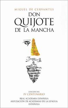 Don Quijote de la Mancha...keeping chivalry alive since the 1600s...
