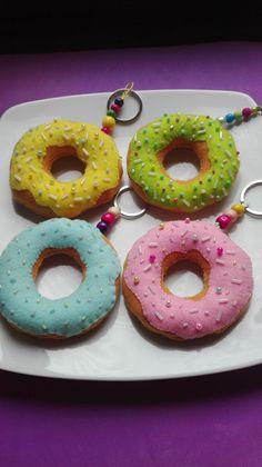 Portachiavi Donut Ciambella.....kawaii! di mimmolaemammola su Etsy