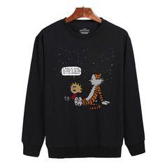 Calvin and Hobbes hoodie gift shirt sweater custom clothing Unisex