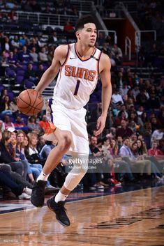 0a46ac4da83 News Photo   Devin Booker of the Phoenix Suns handles the ball. Devin  BookerPhoenix SunsBasketball PlayersNbaArizona