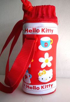 Hello Kitty Vinyl Lunch Bag Sold Only in Japan! NEW in Bag, 2001 Sanrio Food Vtg