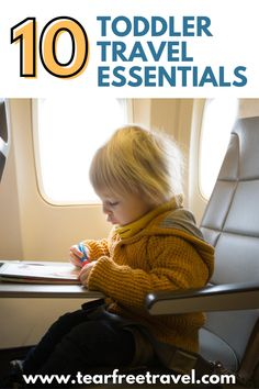 After a few trips where we came back more exhausted than we started, we've found some awesome hacks that have helped take the stress out of traveling with toddlers. Toddler Vacation, Toddler Travel Bed, Baby Travel Bed, Traveling With Baby, Travel With Kids, Family Travel, Packing Tips For Travel, Travel Essentials, Travel Guide