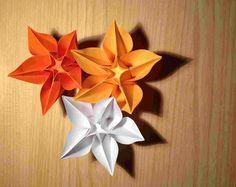 Amazing origami flower ...  #Original #Flowers