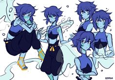 pemprika:su feelies sweeping me away also LAPIS OUTFITvery. pemprika: su feelies sweeping me away also LAPIS OUTFITvery nice Steven Universe Lapidot, Steven Universe Movie, Universe Art, Lapis Lazuli Steven, Lapis And Peridot, Fanart, Steven Univese, Cute Art, Anime