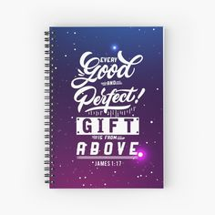 Promote | Redbubble James 1 17, Notebooks, Promotion, Christian, Gifts, Presents, Notebook, Favors, Christians