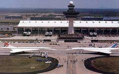 Dulles Airport & The Concordes