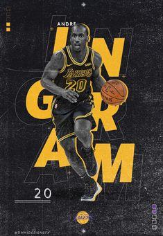Andre Ingram on Behance - Sports - Sport Design De Configuration, Poster Design Layout, Creative Poster Design, Poster Design Inspiration, Creative Posters, Sports Graphic Design, Graphic Design Posters, Sport Design, Basketball Design