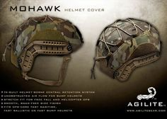 Agilite Mohawk Helmet Cover Now Available