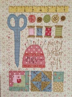Show and Tell: Sewing Block Mini Quilts