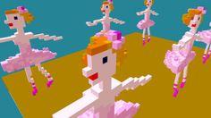 voxel ballet by catilaporte