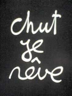 """French Conjugaison: The Verb """"Rêver"""" (To Dream) French Phrases, French Words, French Quotes, How To Speak French, Learn French, Blabla, C G Jung, Words Quotes, Sayings"""