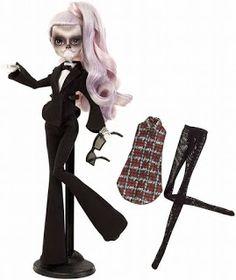 ¡Primer vistazo! Mira la muñeca inspirada en Lady Gaga, creada por Monster High ~ Hey Lady Gaga