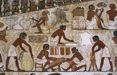 [Egyptian School - Artisans at Work on their Craft]