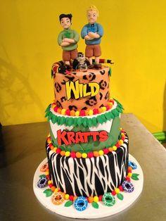 Image result for wild kratt birthday cake