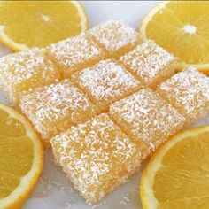 For those who want to make Turkish delight, you can make delicious delight in orange jelly style. Delicious Cake Recipes, Pound Cake Recipes, Snack Recipes, Dessert Recipes, Turkish Delight, Turkish Sweets, Fresh Fruit Cake, Fruit Drinks, Summer Desserts