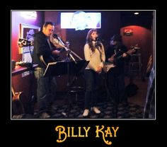 Come out to The Manchester Pub tonight at 6 and see Billy Kay, Donna Fowler and Danny Noehl perform