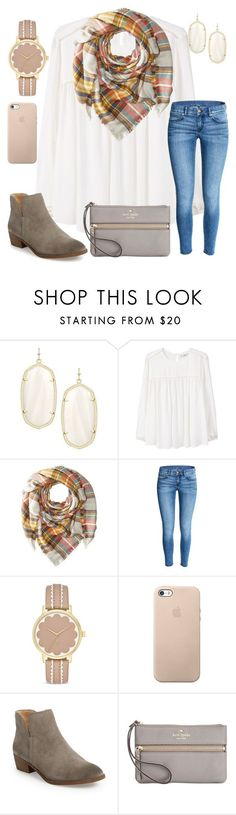 """""""Homecoming Tonight"""" by ctrygrl1999 ❤ liked on Polyvore featuring Kendra Scott, MANGO, Hat Attack, Kate Spade and Splendid"""