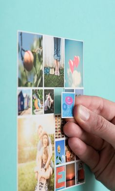 Turn your favorite Instagram photos into cute magnets - cute gift idea