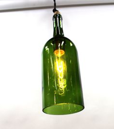 Hey, I found this really awesome Etsy listing at https://www.etsy.com/listing/150502818/green-magnum-wine-bottle-pendant-light