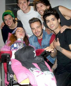 One Direction visiting kids!!!(: