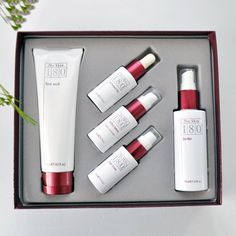 Nu Skin 180 Anti-Aging Skin Therapy System - Her Quarters Nu Skin Reviews, Face Skin, Anti Aging Skin Care, Face Wash, Beauty Care, Therapy, Skincare, Skin Products