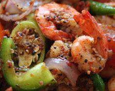 Recipe: Deviled Shrimp or Squid. Convenient finger food and a perfect accompaniment for a cold beer.