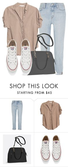 """""""Outfit #1341"""" by sofiaabaarona1998 on Polyvore featuring moda, Madewell, Xirena, Avenue y Converse"""