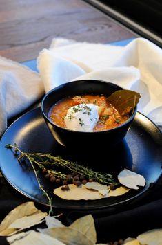 Staročeská zelňačka Chorizo, Ramen, Soup Recipes, Ethnic Recipes, Food, Essen, Yemek, Eten, Meals