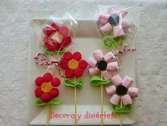 flores chuches ,presentación chuches,celebraciones, gominolas , comuniones, bodas, bautizos,