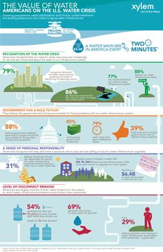 How do you value your water? Check out Xylem's 2012 Value of Water Index infographic.