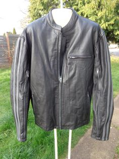 Spring sale Vintage 80's Exellement black leather by Simplemiles, $150.00