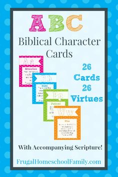 Character training is important in our home. It's essential to teaching children how the Lord expects them to behave and treat others. Of course leading by example is the primary method of instructing children, but it's often helpful to have other resources available as well. There are lots of products on the market to …