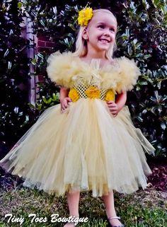Disneys Princess Belle Tutu Dress by roshalsaenz on Etsy, $59.00