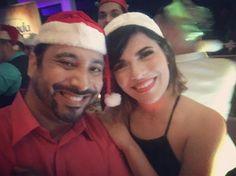 Con @nataliavlugo quien encendió el #party en #navidadesencomfort | #photobomb de @papopistola