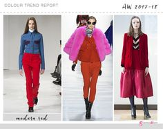 modern red color trend