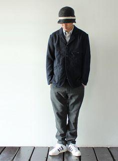 [KATO` BASIC] Melton Jacket