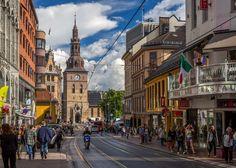 Grensen, Oslo looking toward Oslo Domkirke (Oslo Cathedral). (Jonathan / Flickr)