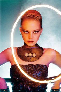 Emma Stone for Interview magazine