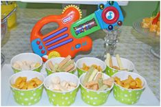 great snacks for a one year old birthday party