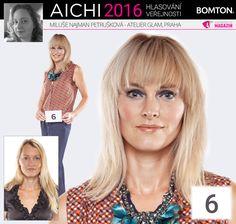 Finále AICHI 2016: Miluše Najman Petrušková - Atelier Glam, Praha Aichi, Atelier