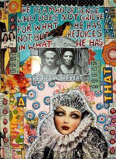 SUZAN BUCKNER: Art Journal Page