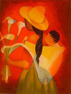 Art Péruvien, Arte Latina, Mexican Paintings, Peruvian Art, Georges Braque, Afro Art, Mexican Art, Native American Art, Rock Art