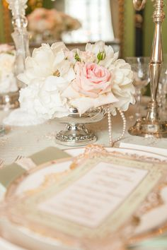You'll swoon over this Downton Abbey inspired wedding by photographer Joseph Matthew. The location, the Dorchester Hotel in London, captures the look of a truly beautiful era gone by—English style of course.