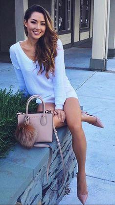 Love this look! Beautiful Legs, Beautiful Asian Girls, Gorgeous Women, Jessica Ricks, Hapa Time, Looks Pinterest, Tumbrl Girls, Brunette Beauty, Sexy Legs
