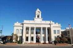 William R. Davie Center | Davie County Courthouse - Mocksville, NC - U.S. National Register of ...