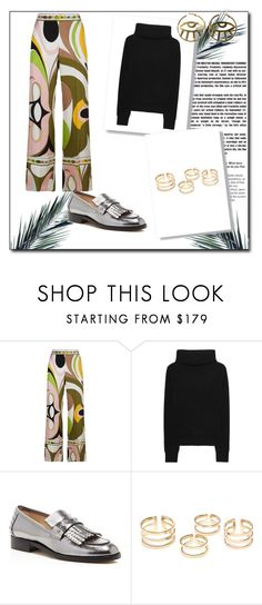 """Colorful Mood ♡"" by valentinbnl on Polyvore featuring Emilio Pucci, The Mercer N.Y. et Botkier"