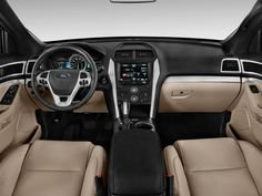 2012 Ford Explorer interior