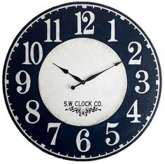 The 30 inch Americana Wall Clock with its good mix of vintage elegance and a touch of rustic charm, will make a distinctive impression on all who see