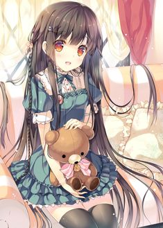 Very cute and beautiful. The Teddy Bear is the best ever. :)