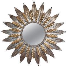 1stdibs | Spanish Vintage Sunburst Mirror